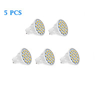 5W GU10 LED Spotlight 20 SMD 5050 320 lm Warm White / Cool White AC 220-240 V 5 pcs