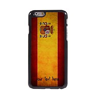 """Personalized Case Spanish Flag Design Metal Case for iPhone 6 (4.7"""")"""