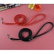 Pu Leather Small Practical Leashes Lead for Dogs and Pets (assorted colours)