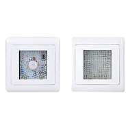 keka® a7-djd 1s 5000k / 6500k blanc froid / blanc chaud induction corps humain lampe blanche (AC180 ~ 220V)