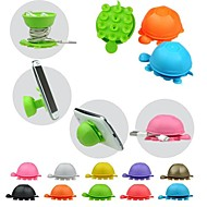 Lovely Cartoon Tortoise Silicone Holder for iPhone/iPad and Others(Random Color)