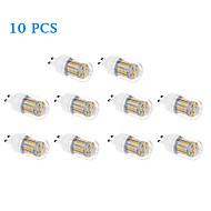daiwl 10pcs G9 6w 31x5050smd sıcak beyaz, soğuk beyaz ışık led 460lm 3500K / 6000K mısır ampul (220-240v)