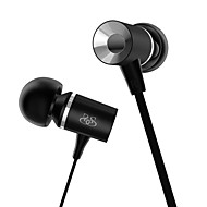 Kuulokkeet Earbuds (In Ear) - Langallinen - Korvakuulokkeet - Mikrofonilla/DJ/Gaming/Urheilu/Hi-fi - Media player/ tabletti/Matkapuhelin/Tietokone -
