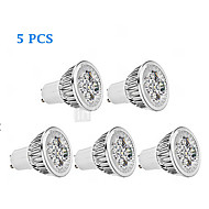 5 pcs Bestlighting GU10 6 W 5 X High Power LED 450 LM K Warm White/Cool White PAR Spot Lights AC 85-265 V