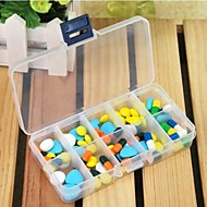 Travel Inflated Mat / Travel Pill Box/Case Rectangular Travel Accessories for Emergency Plastic