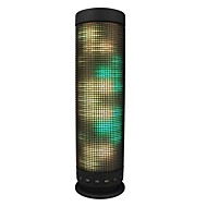 Wireless bluetooth speaker LED light / Bult-in mic / Support Memory card / Stereo