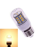 1pcs E26/E27 7W SMD 5730 648 LM 2800-3500K Warm White Corn Bulbs DC 24 V