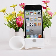 Loudspeaker Horn Stand Silicone Holder for iphone 4/4S (Assorted Colors)