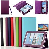 Ολόσωμες Θήκες/Θήκες με βάση - Συμπαγές Χρώμα - Samsung Tablet - για Samsung Tab 2 7.0 (P3100/P3110) (