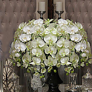 Gren Orkideer Bordblomst Kunstige blomster 101.6 x 10.16 x 10.16(40'' x 4'' x 4'')