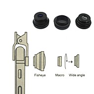 Universal compatible Lens with Filter/Fish-Eye Lens/Long Focal Lens/Wide-Angle Lens/Jelly Lens
