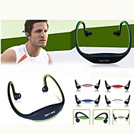 BS-01 Sport  Headphone Headset With TF Card ,FM, MP3 Headset(Assorted Colors)