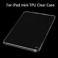 Apfel iPad mini/iPad mini 2/iPad mini 3 - Rückseiten-Hüllen ( Silikon , Schwarz/Weiß/Rosa ) - Einfarbig