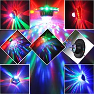 8W 48-LED RGB Rotating Club Pub Disco Party KTV Crystal Magic Ball Stage Effect Light (AC85-260V)