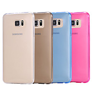 Pure Color Soft TPU Case for Samsung Galaxy S6 (Assorted Colors)