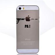 Bakdeksel - iPhone 5/iPhone 5S - Spesielt Design ( Multi-farge , TPU )