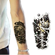 1 Pc Future Force Mechanical Arm Tattoo Stickers Temporary Tattoos