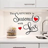 falimatrica fali matricák, ez a konyha fűszeres szeretettel pvc konyha matricák