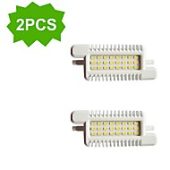 2 kpl H+LUX™ R7S 10.0 W 24 SMD 5630 800 LM Kylmä valkoinen R Koristeltu Valonheittimet AC 220-240 V