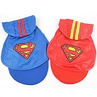 Superman Stylish Eyelet Fabric Mantle for Pets Dogs (Assorted Colors and Sizes)