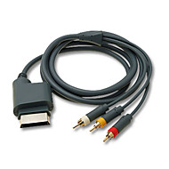 Av cable 180cm para xbox 360
