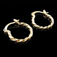 Naisten Niittikorvakorut pukukorut Gold Plated Korut Käyttötarkoitus Häät Party Päivittäin Kausaliteetti Urheilu
