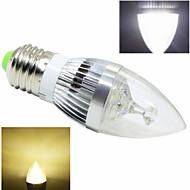 15W E26/E27 Ampoules Bougies LED 5 COB 400-500 lm Blanc Chaud / Blanc Froid AC 85-265 V 1 pièce