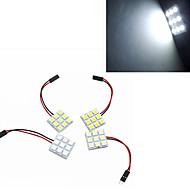 5W Lampe de Décoration 9 SMD 5050 100-300 lm Blanc Froid Décorative DC 12 V 1 pièce