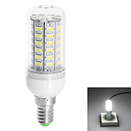E14 10W 1000lm 3000K / 6000k 56-SMD 5730 LED Warm White / Natural WhiteLight LED Corn Bulbs (110V)