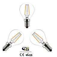 Lampes LED à Filament Blanc Chaud ONDENN 3 pièces A E14 2 W 2 COB 200 LM AC 100-240 V