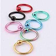 Γυναικεία Κοσμήματα Σώματος Piercing χειλιών Labret, Lip Piercing Jewelry Cercei & Studs de Nas μύτη Piercing Ανοξείδωτο Ατσάλι Μοντέρνα