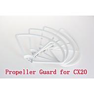 cheerson cx-20 elica set prop staffa parafango / 4pcs rc quadcopter parti cx-20-025