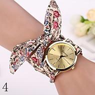 new  Fashion Watches Women Dress Watch Wristwatch Girl Bow Cloth Strap Nationality