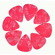 tung 1.5mm gitar plukker plectrums celluloid perle rosa 50pcs-pack