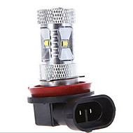 1 pcs  H11 CREE 30W 6LED  High Power LED  2800-3500/6000-6500 K Cool White Automobile lamp Light DC 24/DC 12 V