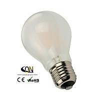 1個 ONDENN E26/E27 6 COB 600 LM 温白色 A60(A19) edison ビンテージ フィラメントタイプLED電球 交流220から240 / AC 110-130 V