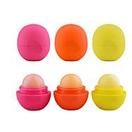 לעטר שפתון שפתון משחת שפת תחום שפתון כדור עגול לחות 3pcs 3gs