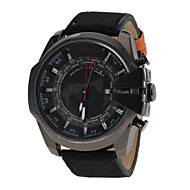 JUBAOLI 男性 軍用腕時計 ファッションウォッチ クォーツ バンド