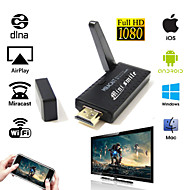 Nyeste Bedst Smart TV stick miracast dongle DLNA airplay spejl op for iPhone 6 iOS Andriod OS vinduer
