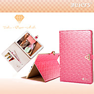 LEIERS®Vogue Weave Leather Wallet Bling Shining Diamond Flip Card Slot Case Cover for iPad Air iPad 5 (Assorted Colors)