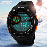 SKMEI® Men's Sporty Watch Digital LCD Display Calendar/Chronograph/Alarm/Water Resistant