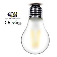 ONDENN E26/E27 4.5 W 4 COB 400 LM 2800-3200K K Warm White A Dimmable Globe Bulbs AC 220-240/AC 110-130 V