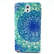 Mert Samsung Galaxy Note Minta Case Hátlap Case Mandala TPU Samsung Note 3