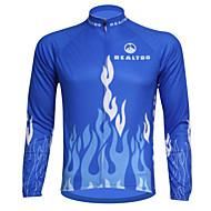 Ademend/Ultra-Violetbestendig/wicking - Heren - Fietsen - Shirt Lange Mouw Voorjaar/Zomer/Herfst Rekbaar S/M/L/Xl/Xxl/XXXL