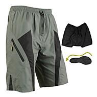 SANTIC® Sykkelshorts Herre Bike Pustende / Fort Tørring / Anvendelig / 3D Pute Fôrede shorts / Baggy shorts / Shorts / BunnerSpandex /