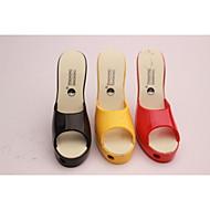 chaussures à talons hauts de femmes créatives Briquet pantoufles de couleur couleurs assorties