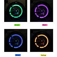 Cykellys / Baglygte til cykel / Forlygte til cykel / hjul lys / Ventilhætters blinklys LED / - / Lysrør - Cykling alarm 100 Lumens