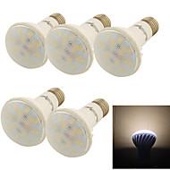 5 stuks YouOKLight E26/E27 9W 18 SMD 5730 800 LM Warm wit R63 Decoratief Par-lampen AC 85-265 V