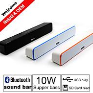 besteye® g-807 Bluetooth-hang bár hangszórók 2.0 hifi hordozható sztereó Bluetooth vezeték nélküli beszél iPhone / Samsung
