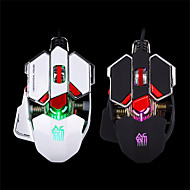 E-Sports Gaming Mouse/Metal Novelty 2400 DPI Colorful Light Wired USB Optical Gaming Mouse with Side Control